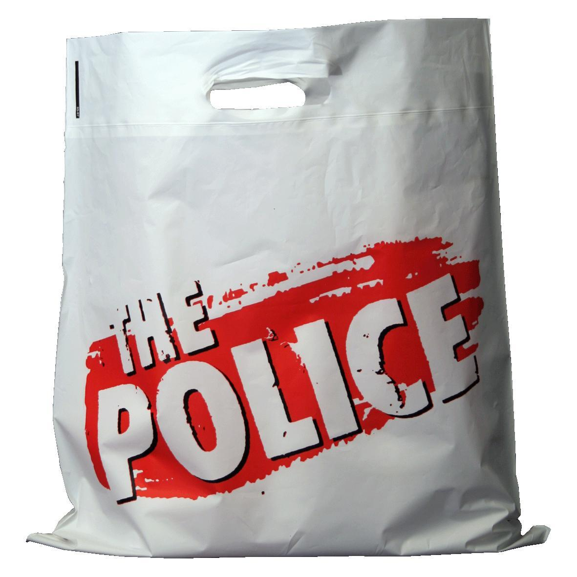 The Police 2007 Tour Bags