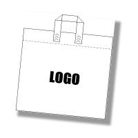Custom Loop Handle Carrier Bags