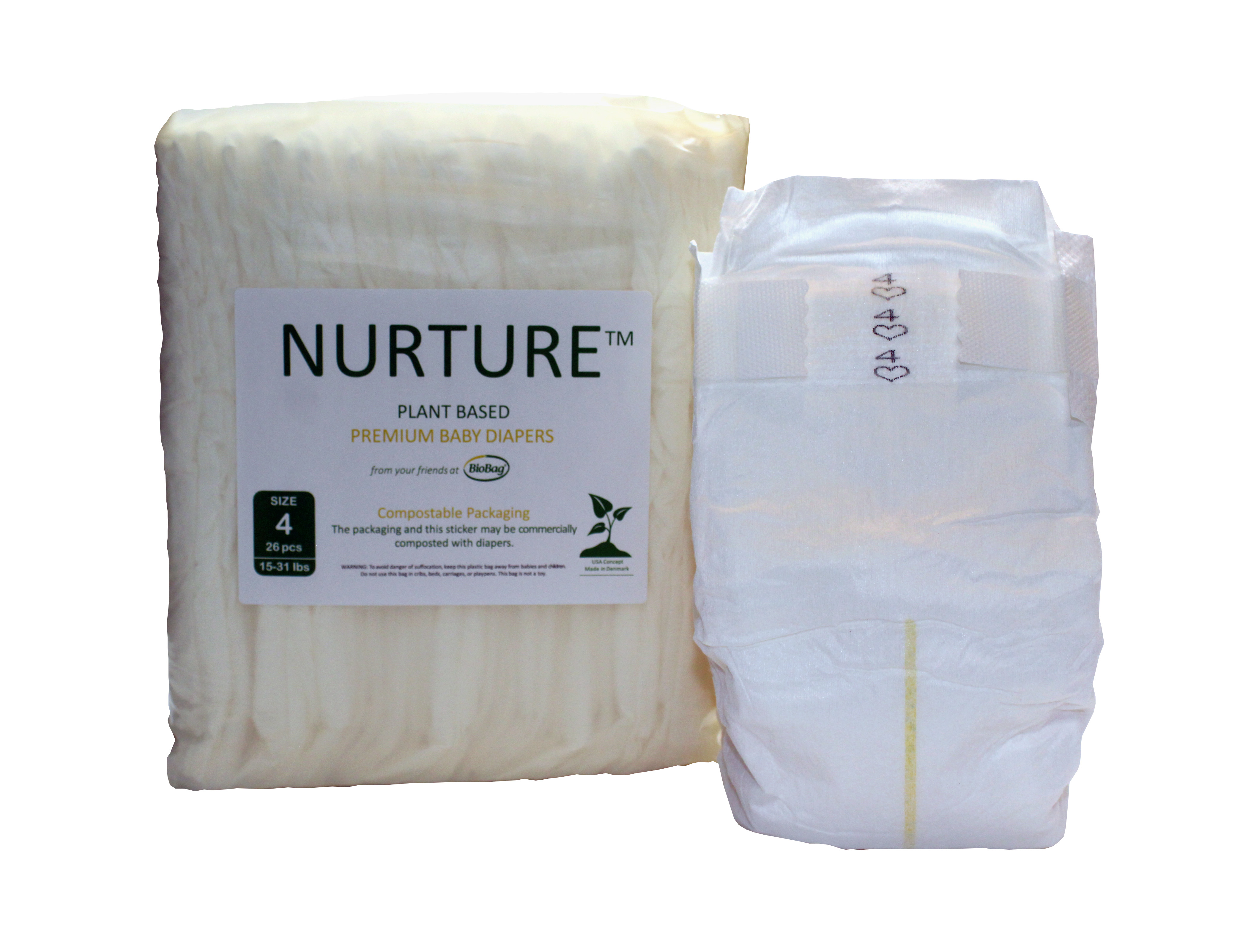 Compostable Diapers